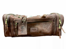 Orvis BullHide Leather Duffle Bag Overnight Carry On