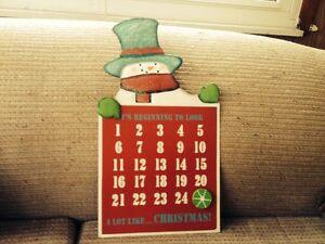Magnetic Holiday December Calendar