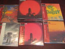 CACTUS JAPAN REPLICA OBI LIMITED EDITION AUDIOPHILE RARE FIVE CD  Box Set