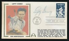 1983 Gateway Cachet -LEFTY GOMEZ (New York Yankees) d.1989 *Autographed*
