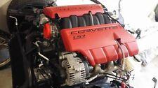07-13 CHEVROLET CORVETTE Z06 LS7 7.0 COMPLETE ENGINE MOTOR ONLY 29K!