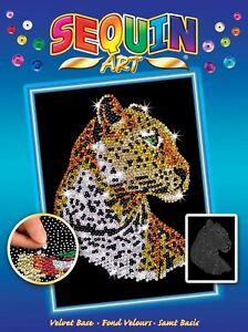 Sequin Art 1208 Leopard DIY Craft Kit From The Blue Range