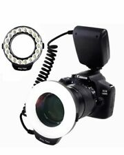 Samtian RF-600D Macro Ring Flash Photography with 18pcs SMD LED Light