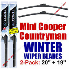 WINTER Wiper Blades 2pk Premium fit 2011-2016 Mini Cooper Countryman - 35200/190