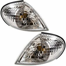 For Nissan Almera 2000 - 2/2003 Front Indicators Clear 1 Pair O/S And N/S