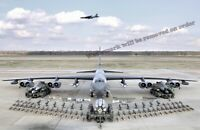 Photograph B-52H Static Display with Weapons, Barksdale AFB Year 2006 11x17