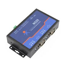 Dual Serial Device Server RS232 RS485 RS422 COM to Ethernet LAN TCP/IP Converter
