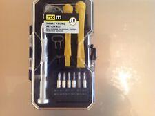 18pc Smart Phone Mobile Repair Kit. ( Also Ideal for glasses, laptops etc )