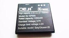 Bateria para EP500 Sony Ericsson Vivaz U5i/Vivaz Pro U8i/Xperia X8 E15i/W8 E16i