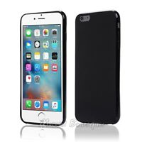Black Soft Thin TPU Silicone Back Cover Case For Apple iPhone 6S Plus 5.5""