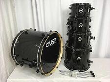 Crush Chameleon Birch 5 Piece Drum Kit/Black Wrap/Blow Out Price!/NEW