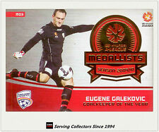 2013-14 SE A League Soccer Trading Card Medal Winner M3: Eugene Galekovic