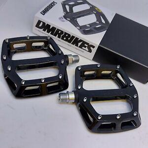 DMR V12 [mg] Pedals  BLACK Magnesium Lightweight Flat Platform Pedal 350g MTB DH