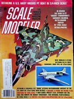 Vtg Scale Modeler Magazine March 1980 The Saab AJ-37 Viggen Thunderbolt m132