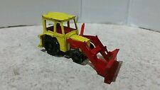 Corgi Juniors Tractor 3303 Massey Ferguson Diecast Vintage Tractor Red & Yellow