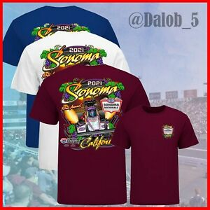 SALE!!! 2021 NHRA Somona Nationals Event Unisex T-shirt All Size