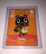 TIMMY 212 ANIMAL CROSSING AMIIBO CARD SERIES 3 New Never Scanned Authentic