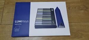 roli lumi keys blue snapcase brand new but damaged box