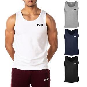 GYMTIER Classic Official Men's Gym Vest Bodybuilding Tank Top T-Shirt Stringer