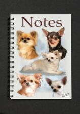 Chihuahua Dog Notebook/Notepad with small image on every page - by Starprint