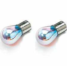 Prism 12V Car 581(OFFSET BULB)Blue Chrome Amber Flash Orange Flashing Indicator