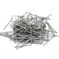 350G Lot of 5,000 Stainless Steel Headpins Flat Head Pins Findings 30mm .6mm