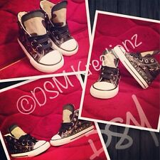Custom *5 Star General* theme Toddler Converse All Star Shoes