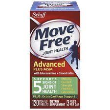 Schiff Move Gratuit Joint Santé avec Fruitex-B Calcium Fructoborate 120 Tablets