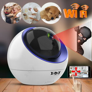 1080P WiFi Home Security Smart IP Camera Wireless Webcam Network Night Vision