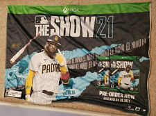 XBOX THE SHOW 21 FABRIC POSTER FERNANDO TATIS SAN DIEGO PADRES GAME STOP