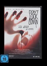 DVD DON'T LOOK DOWN - DIE ANGST AM ABGRUND - HORROR VON WES CRAVEN *** NEU ***