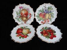 4 Japan Dessert Fruit Plates / Wall Hangings gg
