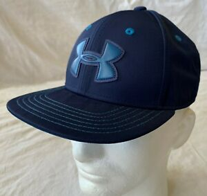 Under Armour Youth's Snap-back Adjustable Flat Peak Cap - One Size