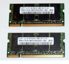 Kit Ram Sodimm DDR2 8Gb 2 x 4Gb PC5300 667 Samsung Notebook Apple Imac Memorie