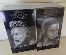 SDCC 2017 Hasbro Star Wars Luke Skywalker Rey Black Series Comic Con HASCON Toys