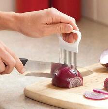 Convenient Kitchen Cooking Onion Vegetable Slicer Cutting Holder