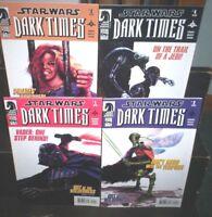 STAR WARS Dark Times OUT OF THE WILDERNESS #1 #2 #3 #4 Dark Horse 2011 VF NM
