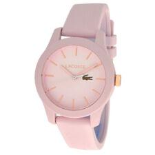 Lacoste Ladies Quartz Watch Plastic Case Silicone Bracelet Model 2001065