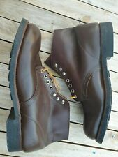 RED WING VINTAGE BOOTS BLACKSMITH 10EE DEADSTOCK NOS (fits a UK 10) Circa 1950s?
