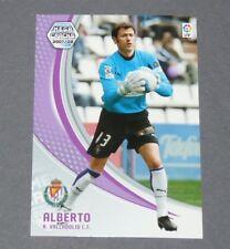 ALBERTO ESPAÑA VALLADOLID ESPAGNE PANINI CARD MGK FOOTBALL LIGA 2007-2008