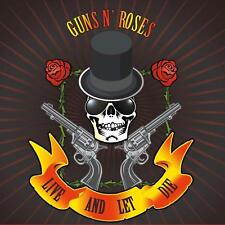 GUNS N' ROSES - LIVE AND LET DIE:THE LEGENDARY BROADCASTS - 4CD BOX-SET - IMPORT
