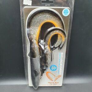 1x Savage gear 3D Hard Eel 109g 25cm Dirty Silver m Ersatzschwanz klein Wobbler
