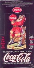 Coca Cola Christmas Holiday Trading Card Box