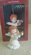Carlton Cards Angel Namesakes Holiday Harmony Home Shopping Network Exc Ornament