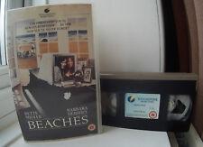 Beaches - Bette Midler Barbara Hershey Ex-Rental BIG BOX Release VHS Video
