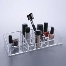 11 Compartment Cosmetic Organiser Clear Acrylic Make Up Perfume Holder Storage