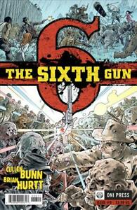 Sixth Gun, The #6 VF; Oni | save on shipping - details inside