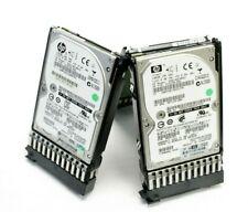 """10 Lot HP DG0146FARVU 146GB 10K RPM SAS 2.5"""" HDD 518194-001"""