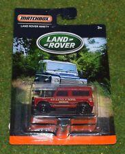 Die Cast Metal Matchbox Land Rover noventa