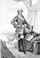 MILITARIAT GRAVURE MARECHAL DE FRANCE / Etienne François de Choiseul 1719-1785